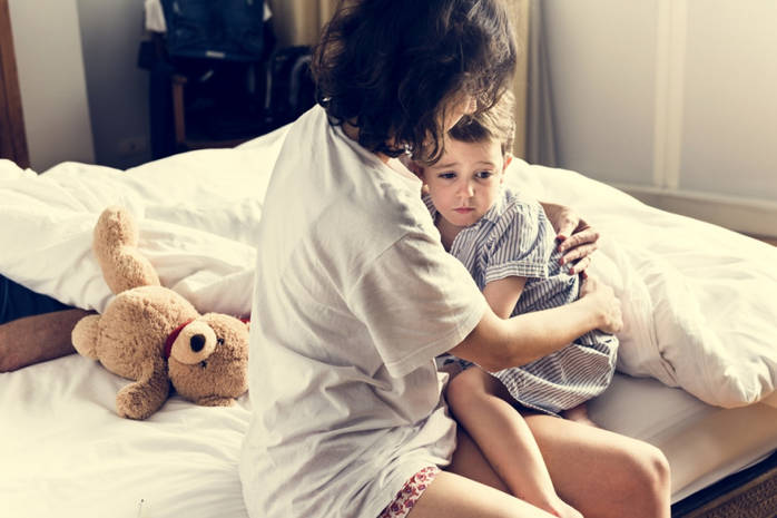 Боремся с ночными кошмарами у детей