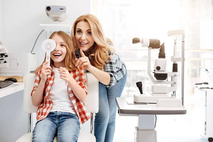 Определяем проблемы со зрением у ребенка