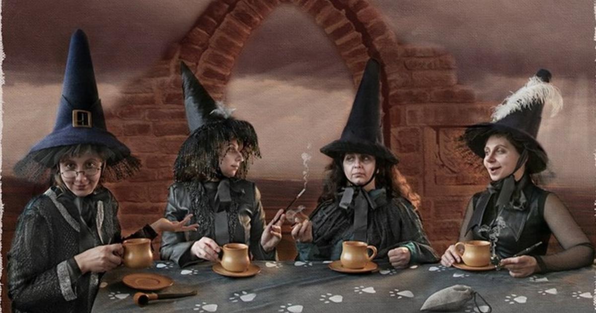Картинки шабаш ведьмочек прикольные