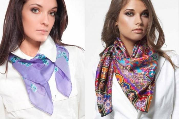 Модный клуб: как правильно подобрать и носить шейный платок - kolobok.ua