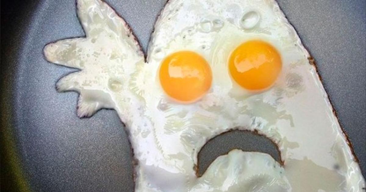 Смешные картинки про завтрак