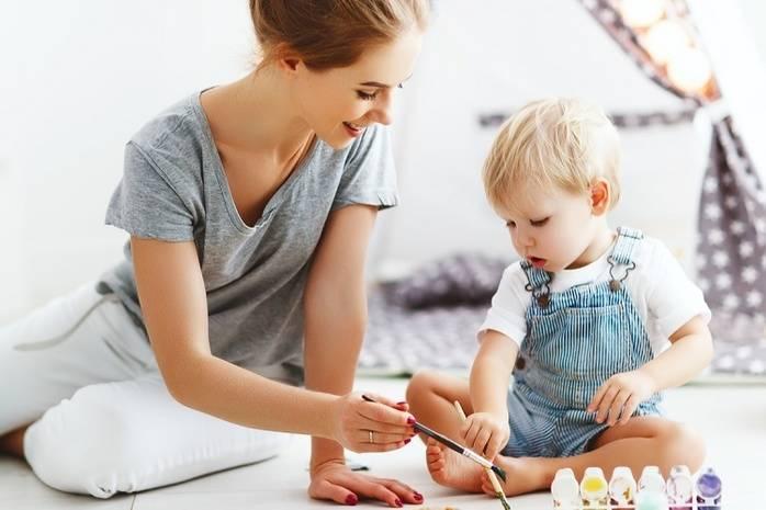 как занять маленького ребенка