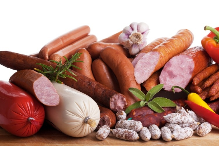 assortiment-of-sausages-picture-id177514322