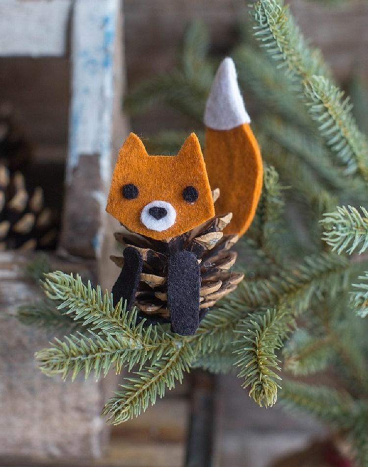felt_fox_pinecone_tree
