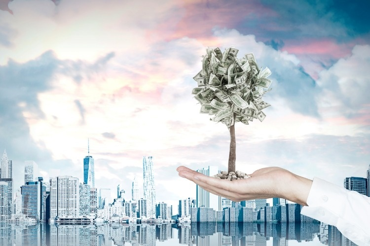 businessman-s-hand-and-a-dollar-tree-city-3d-rendering-picture-id828191460_03